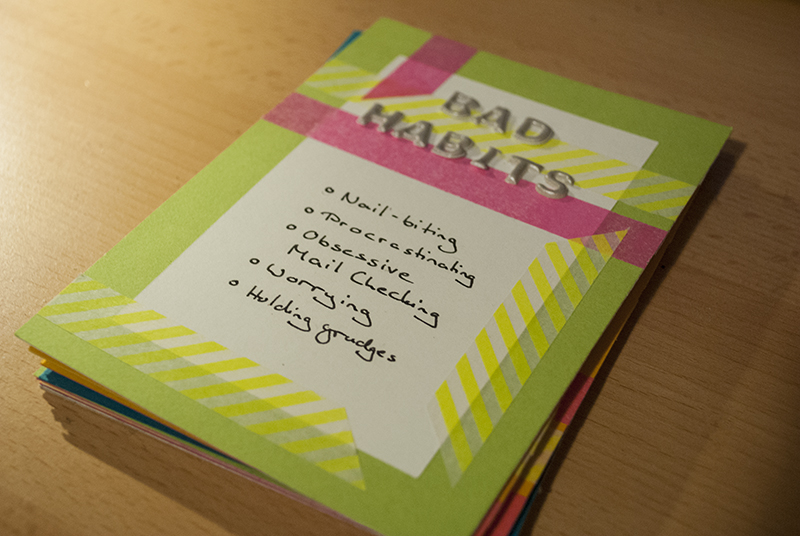 30 Days of Lists 2013 // Bad Habits
