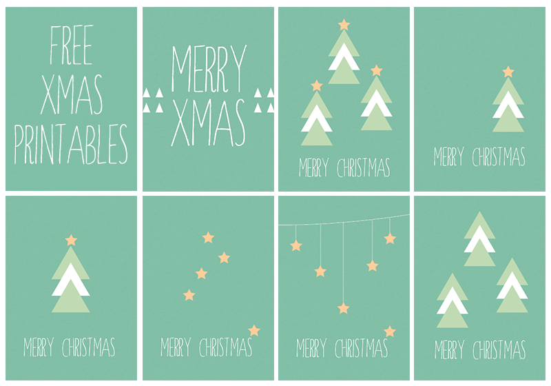 Free Christmas Cards Printables
