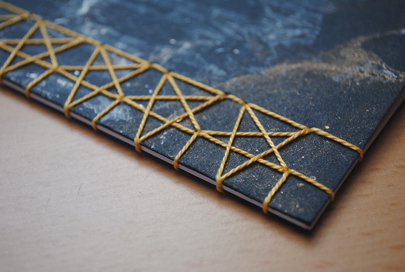 Japanese Stab Binding // Star Stitch